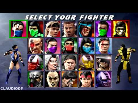 Ultimate Mortal Kombat 3 (Arcade) Todos Fatalities & Animalities