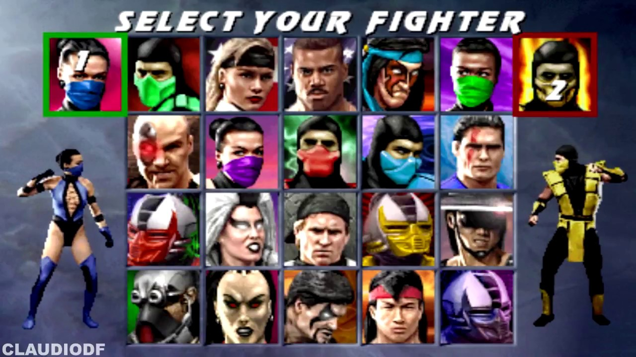 Ultimate Mortal Kombat 3 Arcade Todos Fatalities Animalities