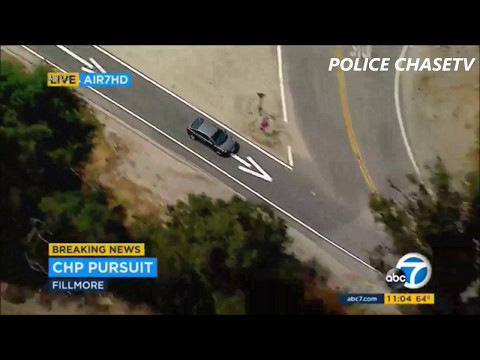 Cinco Disappearo! Stolen Car Chase Ends With A Brief Vanishing Act By Suspect