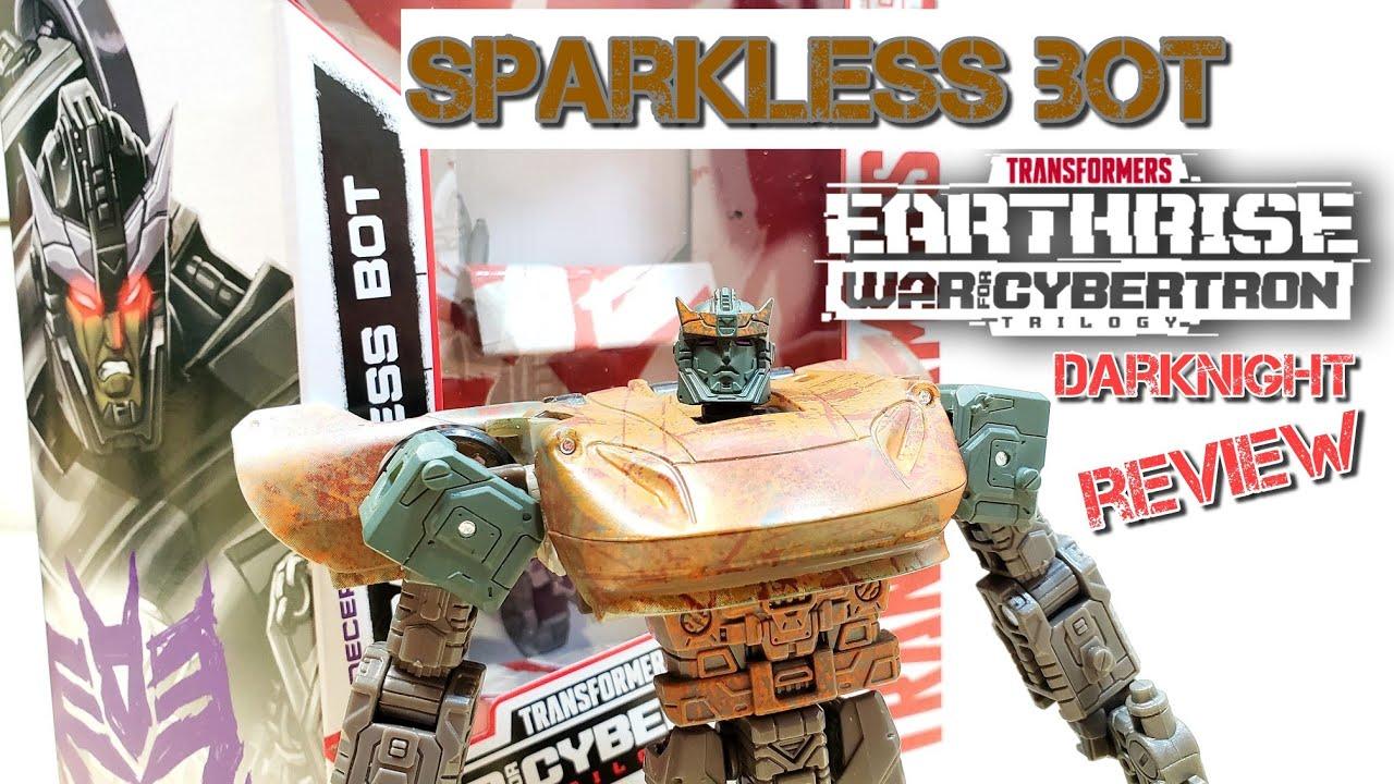 Transformers Netflix Walmart Exclusive Sparkless Bot by DarkNight Reviews