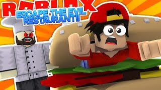 ROBLOX Adventure - ROPO GETS EATEN BY A GIANT BURGER!!!!