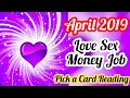 APRIL LOVE, SEX, TWIN FLAME, JOB MONEY- TIMELESS- ALL SIGNS- PICK A CARD READING