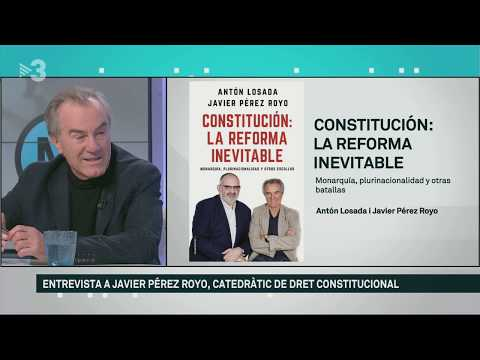 Javier Pérez Royo: 'Mai cap força política espanyola pactarà la independència'