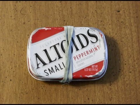 Mini Altoids Tin EDC Survival Kit