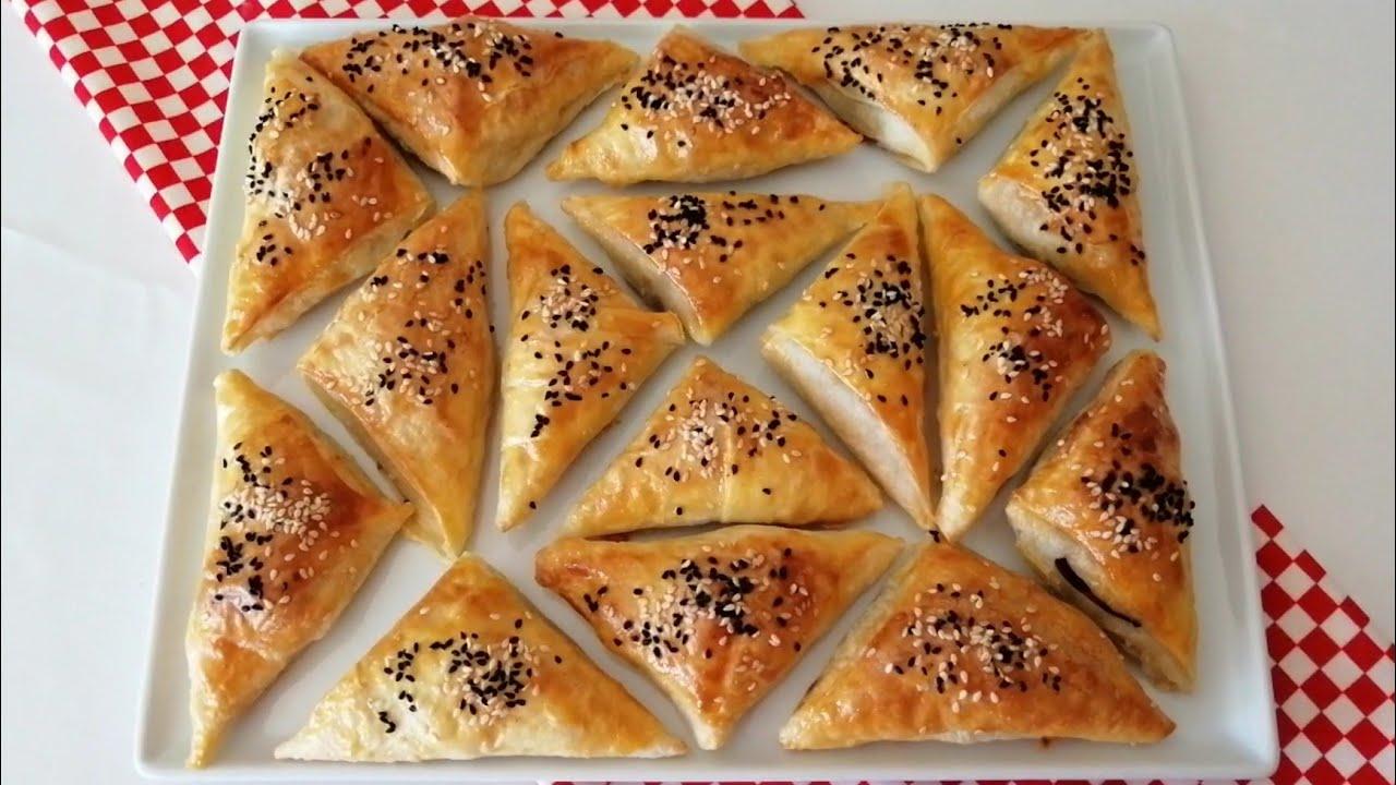 Haşhaşlı Mercimekli Börek/Hazır yufka ile çok pratik/ŞEFFAF MUTFAK