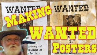 Making Wanted Posters