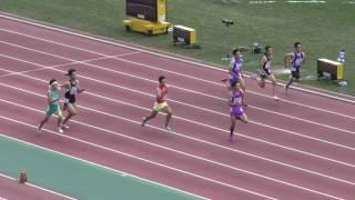 H29 南関東 男子八種競技 100m1組