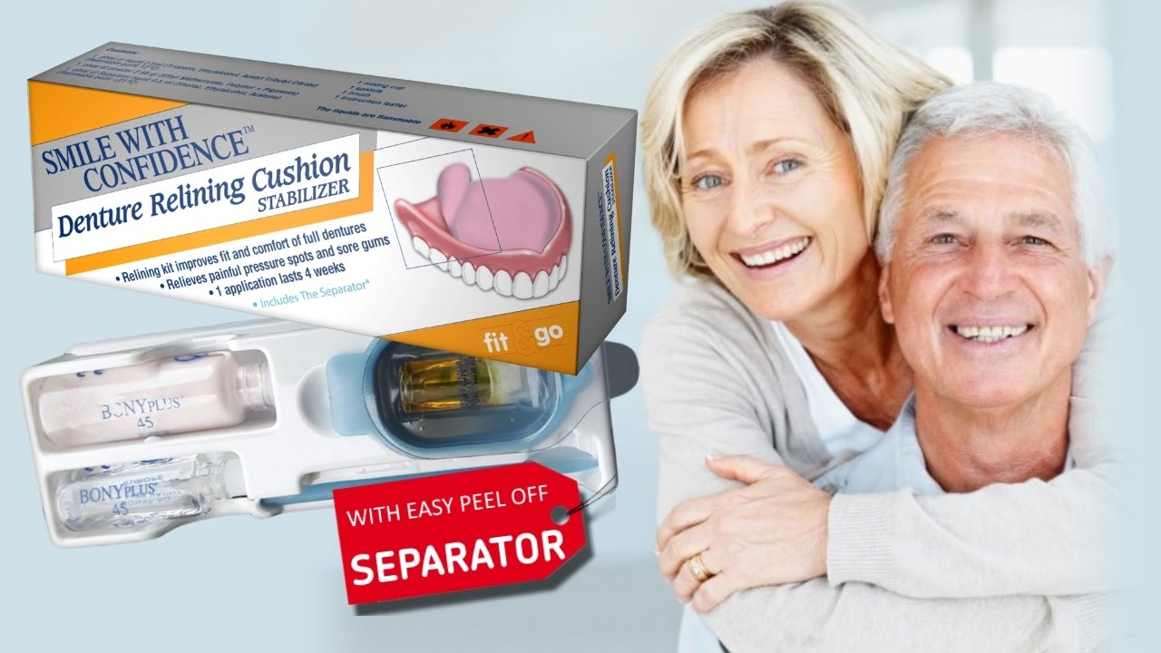 Smile with confidence diy denture relining cushion stabilizer smile with confidence diy denture relining cushion stabilizer solutioingenieria Images