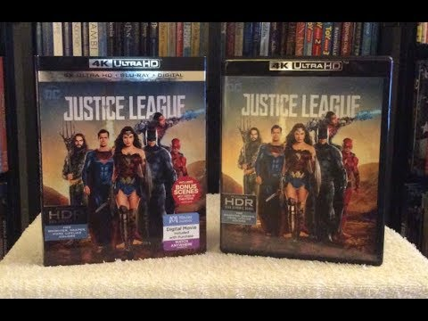 Justice League 4K BLU RAY REVIEW + UNBOXING