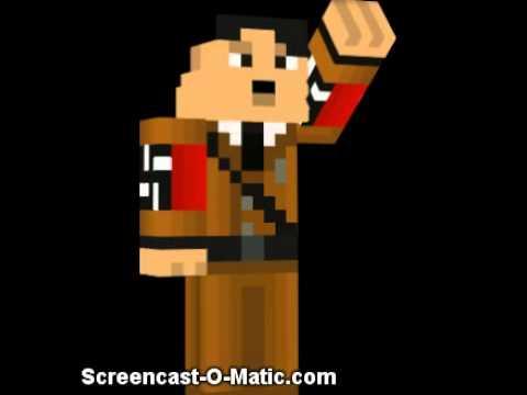 Minecraft Hitler Skin Podcast YouTube - Skins para minecraft pe hitler