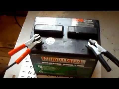 Lead acid battery restoration desulfation recondition in 5 minutes for $ 1.oo epsom salt