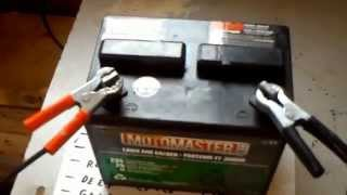 Lead acid battery restoration desulfation recondition in 5 minutes for $ 1.oo epsom salt