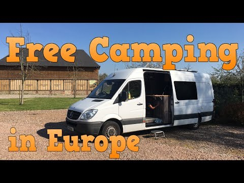 Camping In Europe For Free - Park4Night.com