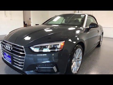 2018 Audi A5 Cabriolet Lake Forest Highland Park Chicago