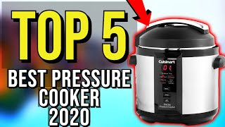 ✅ TOP 5: Best Pressure Cooker 2020