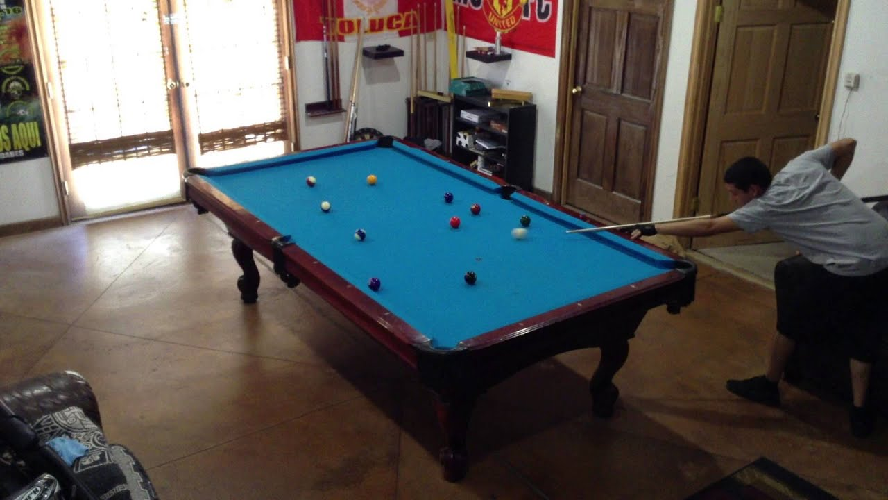 8 Ball Break And Run 9 Foot Table