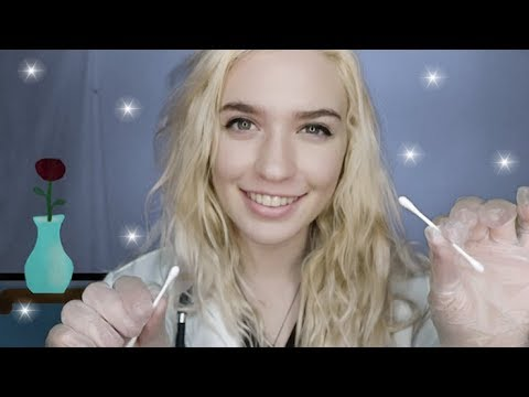 ASMR ~ Doctor Role-play! Dr.Rose Checks Your Skin ~