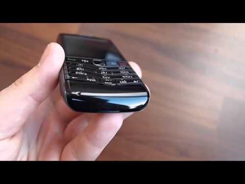 BlackBerry Pearl 3G 9105 - design walk around video