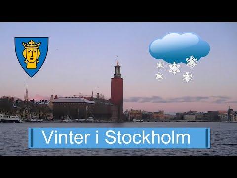 Vinter i Stockholm under 2016 - Winter in Stockholm under 2016