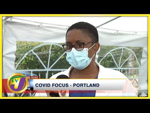 Covid Focus in Portland Jamaica | TVJ News - Oct 5 2021
