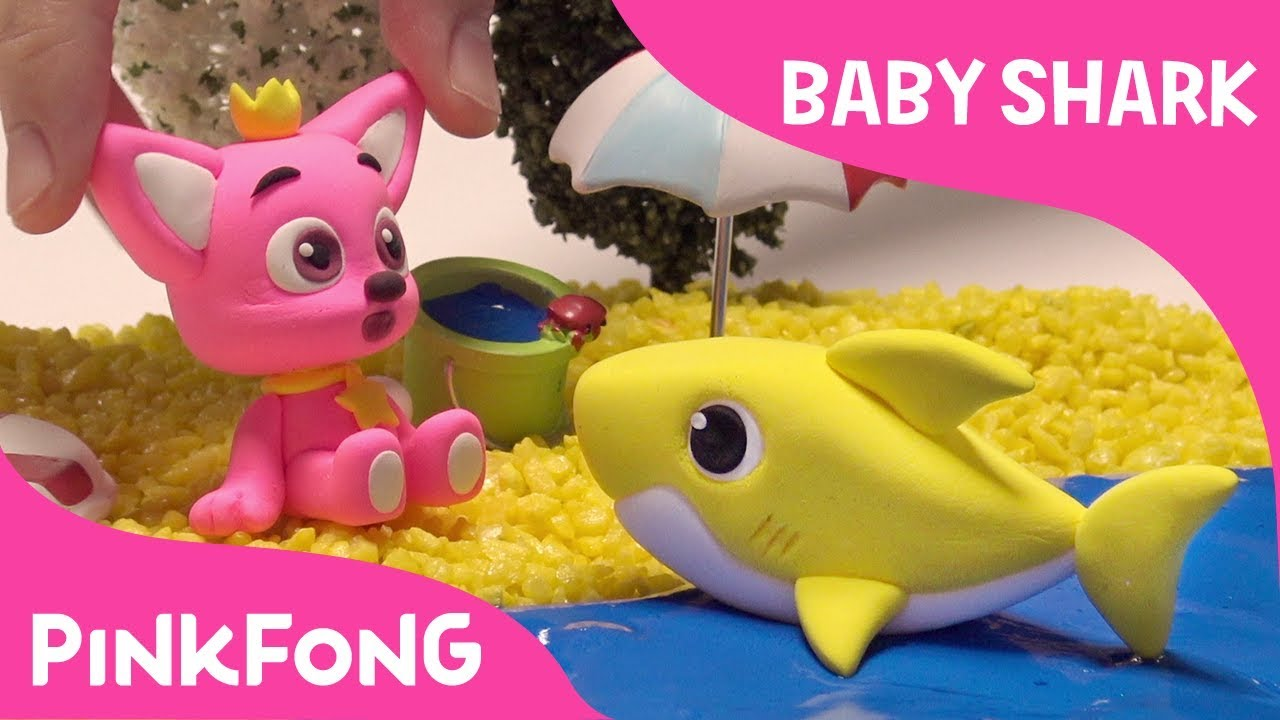 878161a1b How to make a clay Baby Shark | Pinkfong Clay | Animal Songs | Pinkfong  Songs for Children