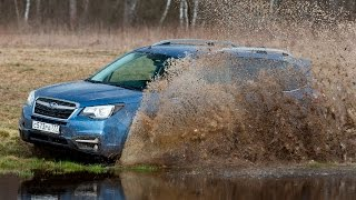 Subaru Forester - Offroad-тест рестайловой модели