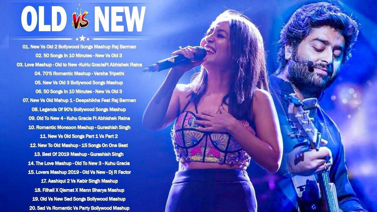 Old Vs New Bollywood Mashup 2021 | New Romantic Hindi Songs Mashup Live_BOLLYWOOD MASHUP 2021
