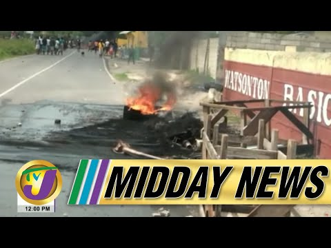 Deadly Covid-19 Delta Strain   Chaos Continues in Clarendon Jamaica   TVJ Midday News - June 15 2021