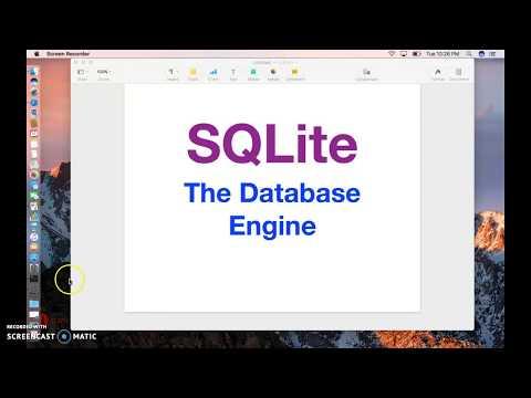 SQLite Tutorial: Using SQLite Database on Mac!