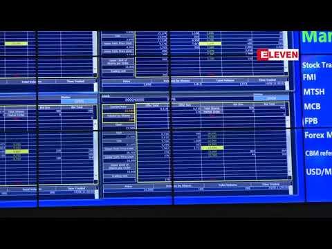 Yangon Stock Exchange တြင္ Myanmar Thila SEZ Holding ၏ ရွယ္ယာတစ္စုေစ်း ၃၆၀၀ က်ပ္ျဖင့္ ...