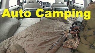 Neu Ausrüstung für Auto Winter-Camping ausprobiert. Ankündigung Winter-Biwak | Wanderfalke