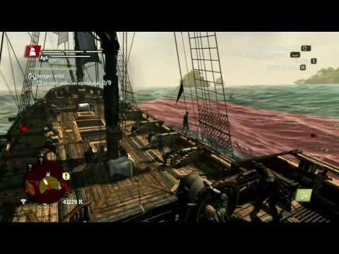 Assassin's Creed IV - Black Flag (PC) Stream - Magyar felirattal és kommentárral 3. rész