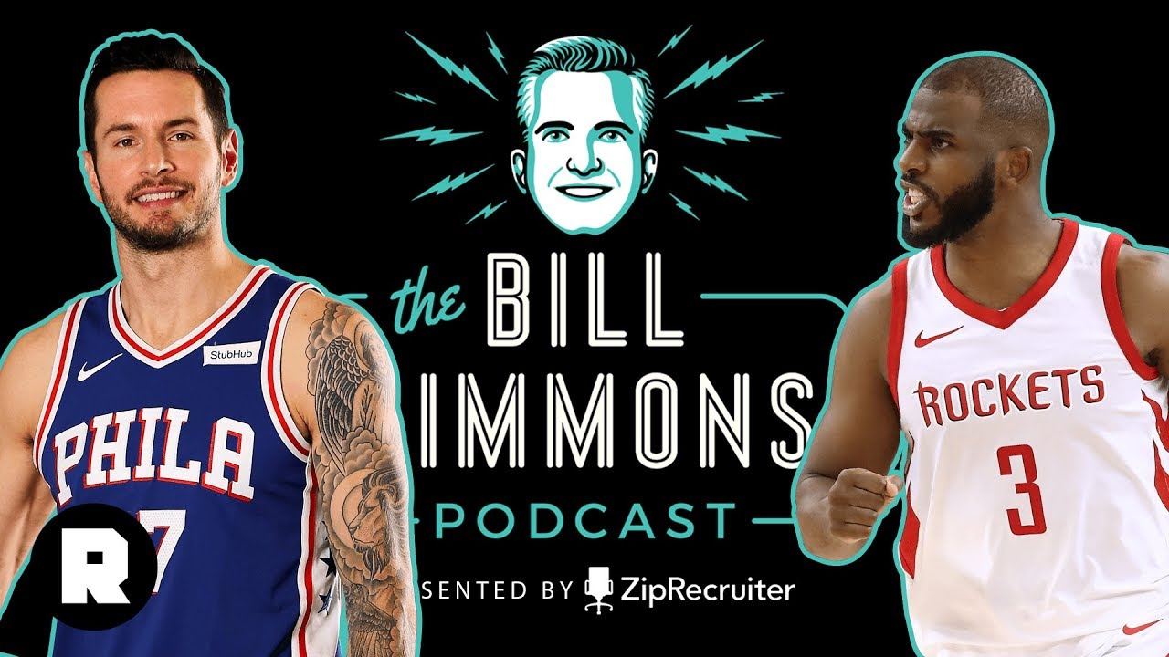 best cheap 95b58 45e2a J.J. Redick on Philly's Future, CP3's Moment, and One-and-Done | The Bill  Simmons Podcast