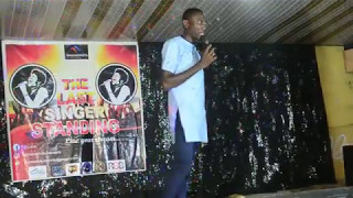 Frank D Don39s Performance at The Last Singer Standing Grand Finale