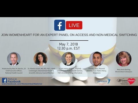 WomenHeart Expert Panel: Access and Non Medical Switching