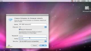 So Erstellen Sie ein Drahtloses Ad-Hoc Netzwerk zwischen Macs Für Dummies