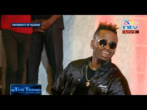 Diamond Platnumz alivyowaacha hoi wanachuo Nairobi kwenye THE TREND