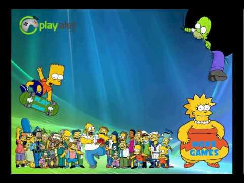 Симпсоны Голодная Гонка Simpsons Starving Rush