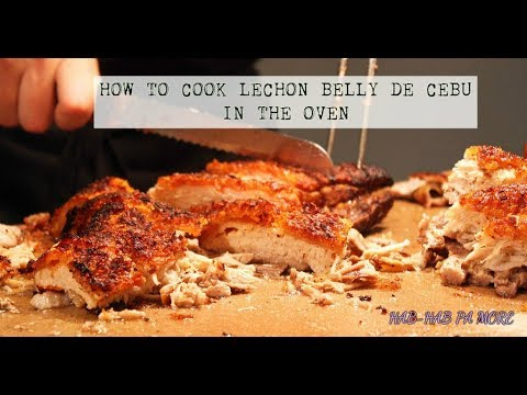 HOW TO MAKE CEBU LECHON BELLY (LECHON TALISAY)