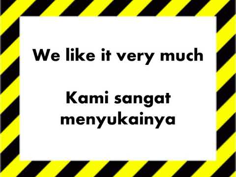 English and Indonesian Phrases for you / Belajar Ungkapan Ba