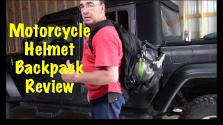 KEMIMOTO 37L Motorcycle Backpack Review