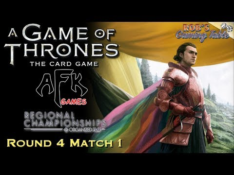Game of Thrones LCG: Michigan Regional Championship 2017 (AFK Games) #4.1