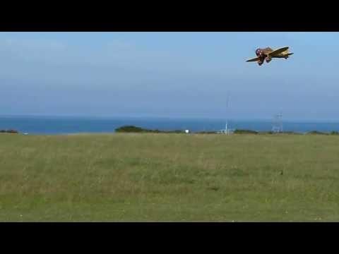 Model P26 Peashooter flying