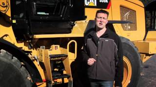 Main Features of Cat® K Series Small Wheel Loaders