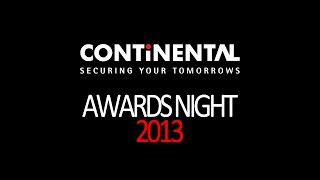 Continental Group - Awards Night 2013