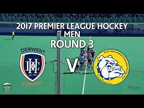 Derwent v North West Grads | Men Round 3 | Premier League Hockey 2017