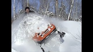 Old sled footage from 2009, tundras, Yamaha VK450's deep pow nonsense!