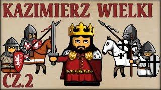 Kazimierz III Wielki cz.2  (Historia Polski #60) (1333-1335) - Historia na Szybko