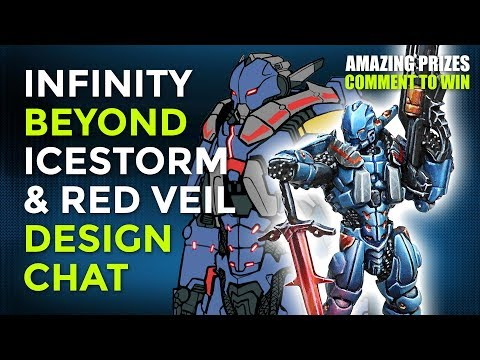 Infinity Beyond Week: Designing The Beyond Icestorm & Red Veil Expansions