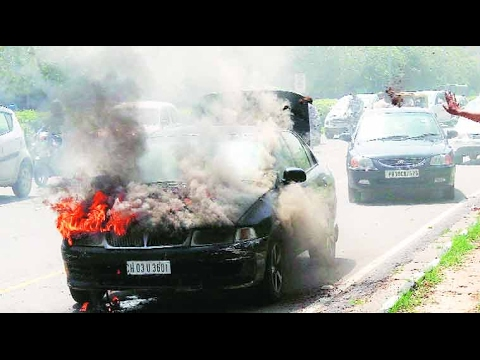 In Case A Car Catches Fire Do Insurance Companies Honour A Claim?